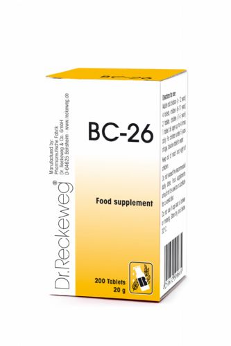 Schuessler BC26 combination cell salt - tissue salt